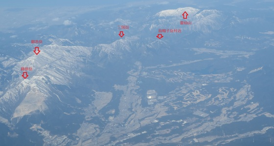 いなべ市上空から見る鈴鹿山脈北部.jpg